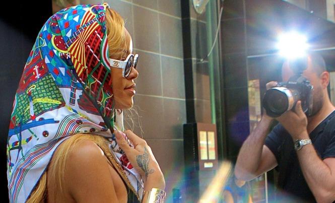 Rihanna Silk Scarf