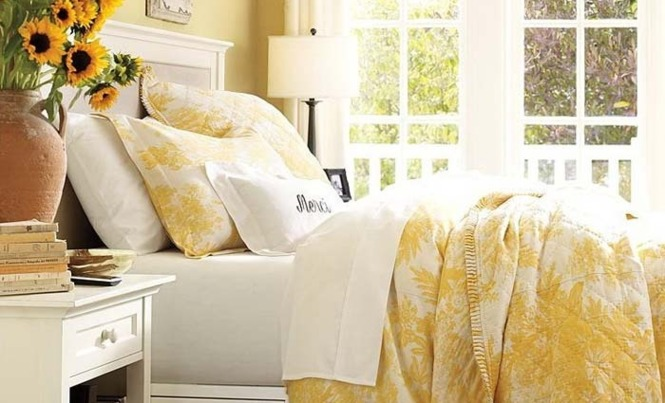 Yellow Bedroom Ideas for Interior Design