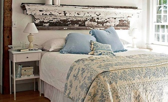 Shabby Chic Rustic Bedroom