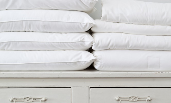 silk bedding is perfect for summer months